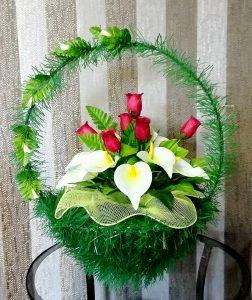 корзина ритуальная орхидея североуральск
