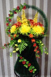 ритуальные венки из искусственных цветов